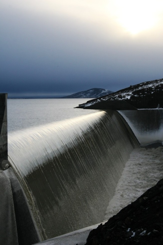 Karahnjukar_Hydropower_spillway