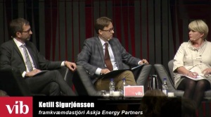 Iceland-Energy-Conference_Harpa-Reykjavik-September-2014_Hordur-Arnarson-CEO-of-Landsvirkjun_Ketill-Sigurjonsson-Managing-Partner-of-Askja-Energy-Partners_Ragnheidur-Elin-Arnadottir-Minister-for Industries-and-Innovation