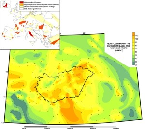 Hungary-Geothermal-Heat-Flow-Map