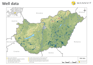 Mannvit-Hungary-Well-Data-Map