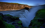 Gullfoss-evening