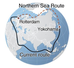 Arctic-Northern-Sea-Route-Northeast-Passage-Map