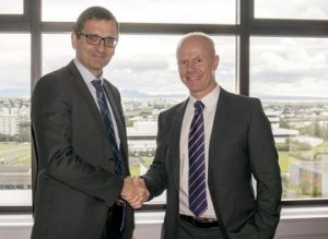 Hordur-Arnarson-CEO-of-Landsvirkjun-and-Magnus-Gardarsson-CEO-of-United-Silicon