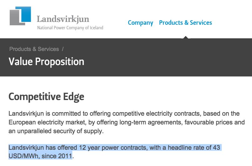 The pricing policy of Landsvirkjun | Askja Energy - The Essential ...
